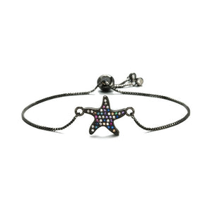 Save the Ocean Jewelry Chic Unique Charm Starfish Bracelets AAA CZ 20 Styles-seaxox.com