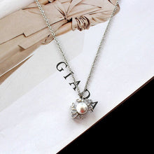 Load image into Gallery viewer, Save Ocean Animal Jewelry Crab Necklace Short Pendant Chain 2 COLORS-seaxox.com