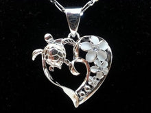 Load image into Gallery viewer, Save Sea Turtle Jewelry | Hawaiian Sea Turtle Necklace-seaxox.com