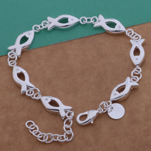 Load image into Gallery viewer, Save Ocean Animals Jewelry | Chic Fish Circle Bracelet-seaxox.com