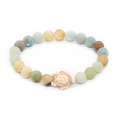 Save Sea Turtle Jewelry | Stone Sea Turtle Bracelet 7 Styles-seaxox.com