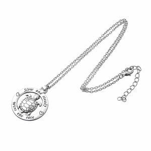 Cute Save Sea Life Jewelry Save the Sea Turtles Necklace Statement-seaxox.com