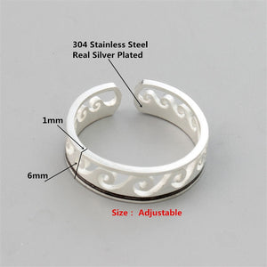 "California Surf "" Wave Ring "" Adjustable-seaxox.com"