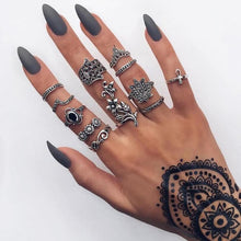 Load image into Gallery viewer, Boho Chic Tribal Ring Sets-seaxox.com