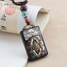 Load image into Gallery viewer, Ocean Charity Jewelry Nepal Necklace Vintage Ethnic Style-seaxox.com