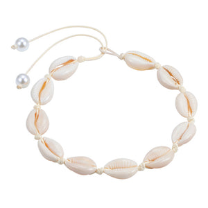 Save the Turtles Jewelry Boho Natural Shell Choker 6 Styles-seaxox.com