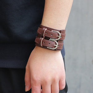 Save Ocean Animals Jewelry | Boho Leather Cuff Bracelet 26 Styles-seaxox.com