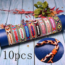 Load image into Gallery viewer, Save Ocean Animals Jewelry | Friendship Bracelet Braided Boho 15 PC SET-seaxox.com