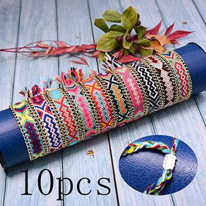 Save Sea Animal Jewelry Friendship Bracelets Braided Woven Boho 🐳 WOW 15 PC SET 🐳