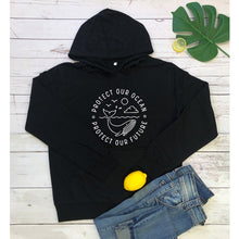 Load image into Gallery viewer, Save the Ocean Hoodies | Protect Our Ocean Hoodies-seaxox.com