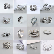 Load image into Gallery viewer, Sterling Boho Beach Rings-seaxox.com