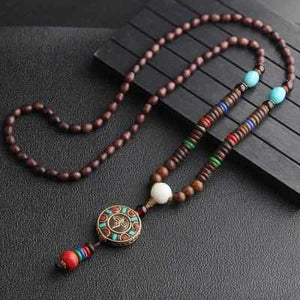 Save Ocean Animals Jewelry Necklace | Nepal Handmade Mala Necklace-seaxox.com