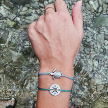 Load image into Gallery viewer, Save Sea Turtle Jewelry | Sea Turtle Bracelet Compass Set-seaxox.com