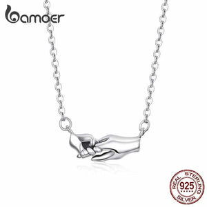Save Ocean Animals Jewelry Necklace | Sterling Necklace Helping Hand-seaxox.com