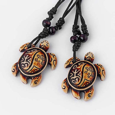 Ocean Charity Jewelry | Sea Turtle Tribal Necklace