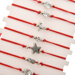 Ocean Charity Jewelry | Cute Sea Charm Bracelets 12 Set-seaxox.com