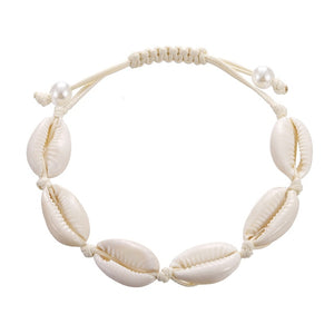 Save Sea Life Jewelry | Seashell Rope Chain Conch Necklace-seaxox.com
