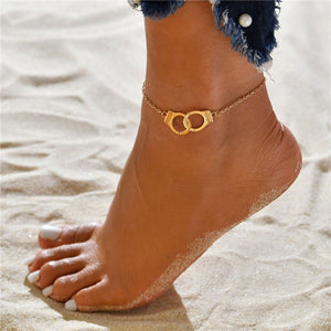 Jewelry that Helps the Ocean | Handcuff Anklet-seaxox.com