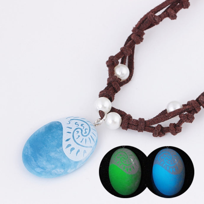 Save Ocean Animals Jewelry Necklace | Polynesia Moana Rope Necklace-seaxox.com