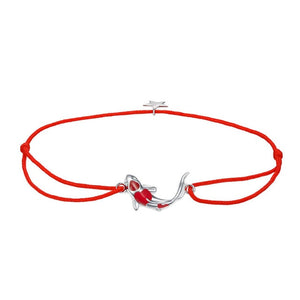 Save Ocean Animals Jewelry | Sterling Lucky Koi Fish Bracelet-seaxox.com