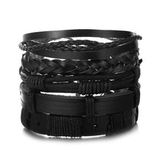 Load image into Gallery viewer, Ocean Conservation Jewelry | True Boho Leather Bracelet 26 Styles-seaxox.com