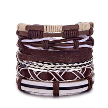 Load image into Gallery viewer, Ocean Conservation Jewelry | True Boho Leather Bracelet 26 Styles