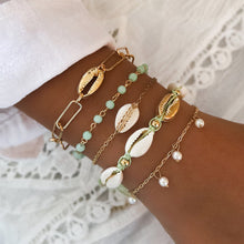 Load image into Gallery viewer, Save Ocean Animal Jewelry Bracelets, Boho Mixed Crystal Shell Multi-Layer 30 STYLES-seaxox.com