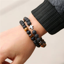 Load image into Gallery viewer, Save Ocean Animals Jewelry | Boho Hematite Bead Bracelet 40 STYLES-seaxox.com