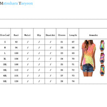 Load image into Gallery viewer, Boho Women Cotton Cute Tassel Casual T-shirt Sleeveless Tie-dyed Color 6 STYLES-seaxox.com