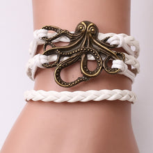 Load image into Gallery viewer, Ocean Charity Jewelry | Octopus Bracelet-seaxox.com