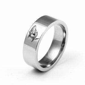Save the Sharks Jewelry | Shark Ring With Insignia-seaxox.com