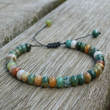 Load image into Gallery viewer, Save Ocean Animals Jewelry | Amazonite Boho Stone Bracelets-seaxox.com