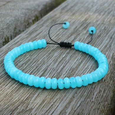 Save Ocean Animals Jewelry | Amazonite Boho Stone Bracelets-seaxox.com