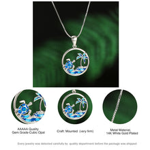Load image into Gallery viewer, save_the_ocean_jewelry_jewellry_australia_uk_canada_helping_save_sea_life_animals_help_oceans_creatures_sea_turtles_sharks_whales_turtle_tracker_bracelet_dolphin_dolphins_whale_shark_wave_ring_anklets_bracelets_necklace_earrings_anklets,choker_rings_tshirt_caps_apparel_seashell_shell_charity_conservation_beach_life_helping_seas_oceans_planet_coral_reefs_wildlife_charities_ocean_conservation_jewelry
