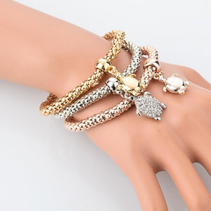 Save Sea Turtle Jewelry | Gold Sea Turtle Bracelet-seaxox.com