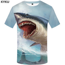 Load image into Gallery viewer, Save the Ocean Tshirts | Save the Sharks TShirt Tees 3d