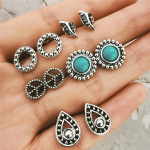 Save Sea Animals Jewelry | Boho Ocean Earring Sets-seaxox.com