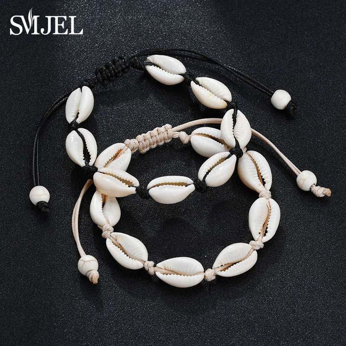 Save Sea Life Jewelry | Seashell Bracelet Choker Rope Chain-seaxox.com