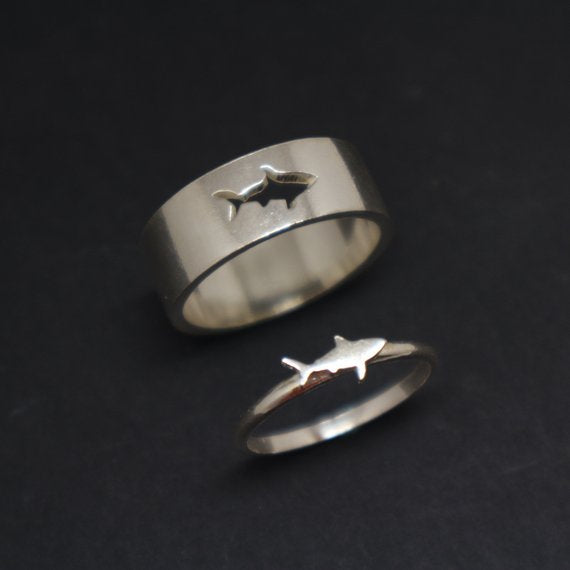 Save the Sharks Jewelry | Great White Shark Ring-seaxox.com