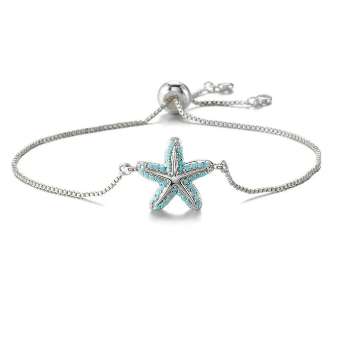 Ocean Charity Jewelry | Save Sea Life Starfish Bracelet-seaxox.com