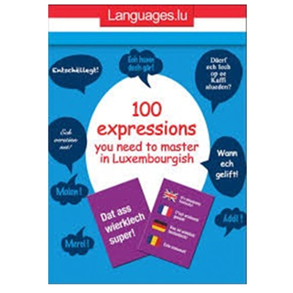 100 expressions you need to master in Luxembourgish