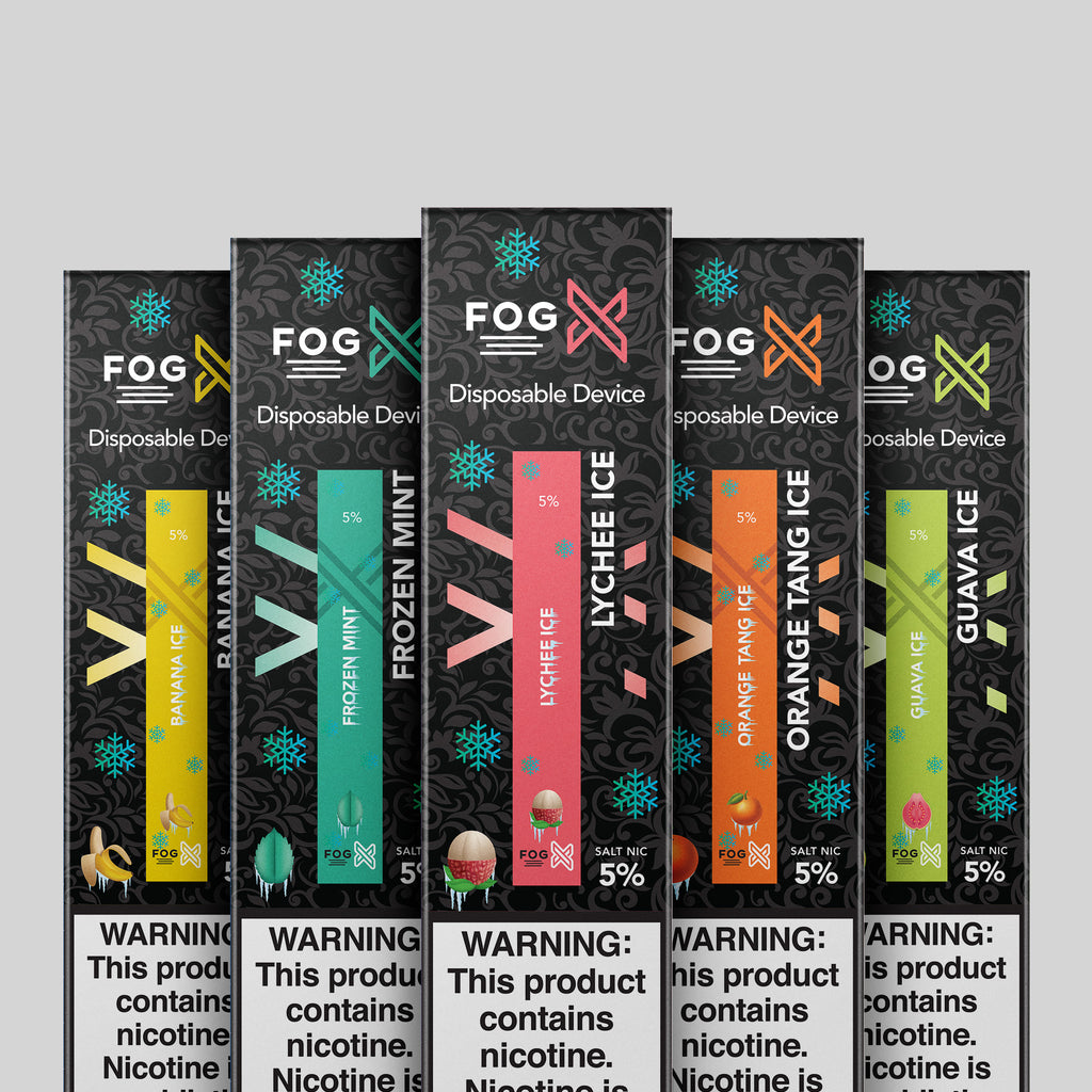 FOG X Disposable Vape Device New Flavor Bundle