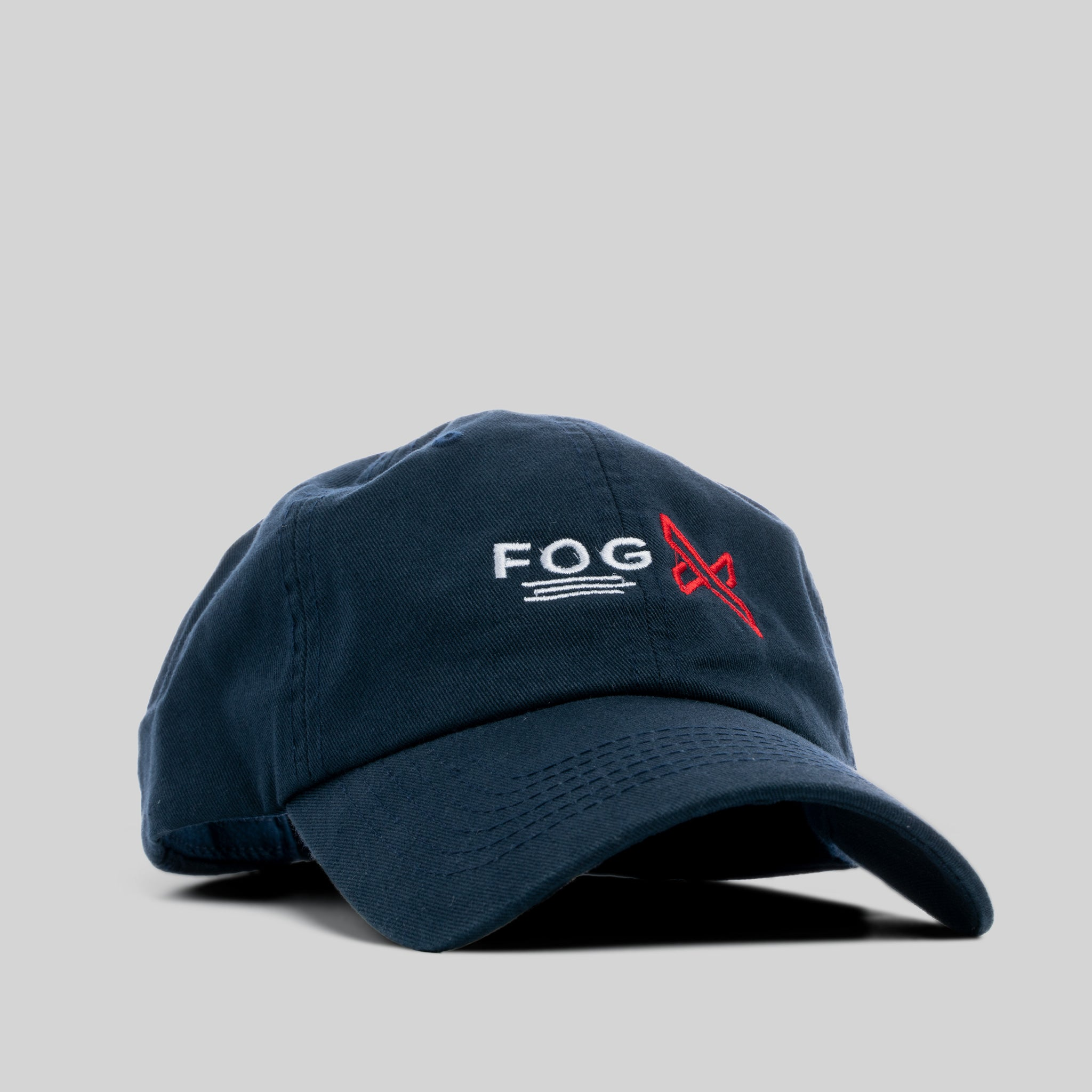 FOG X Logo Dad Hat Navy Blue