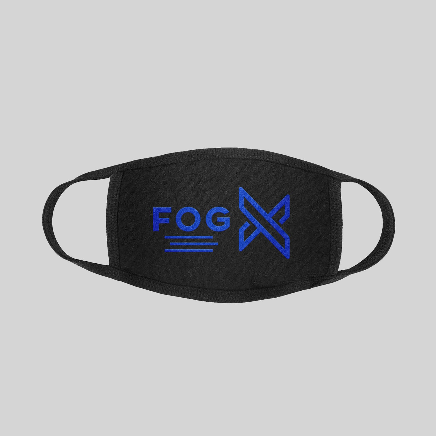 FOG X Logo Face Mask Blue