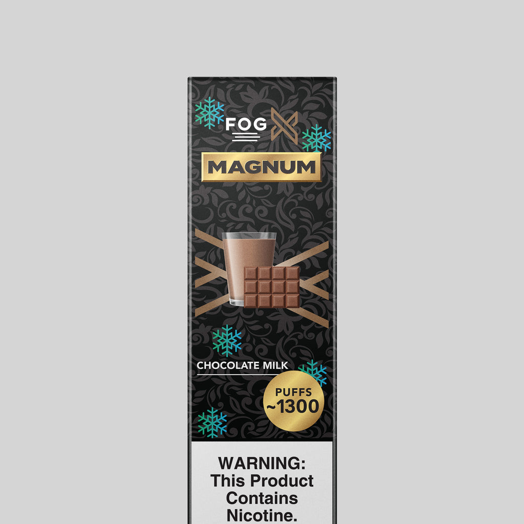 FOG X Vapor Magnum Chocolate Milk Disposable Vape Device