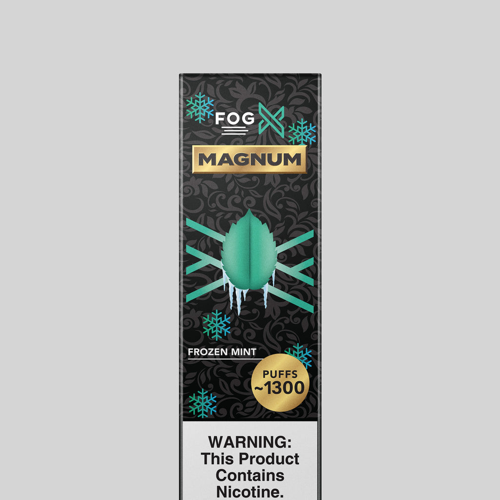 FOG X Vapor Magnum Frozen Mint Disposable Vape Device