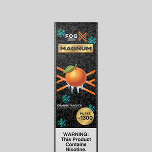 FOG X Vapor Magnum Orange Tang Ice Disposable Vape Device