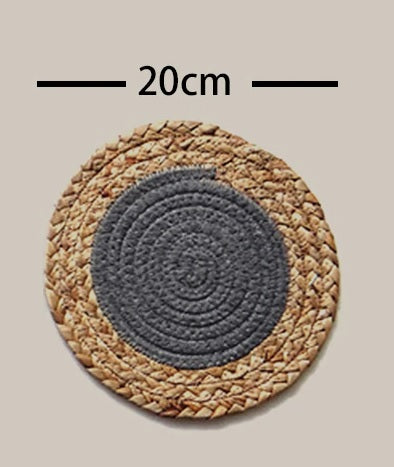 European Straw and Cotton Rope