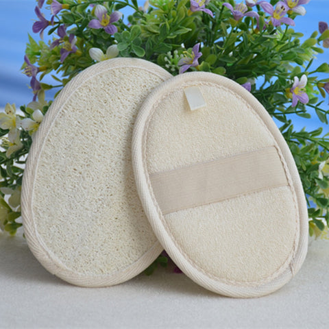 High Quality 1PC Natural Loofah Sponge Bath Rub