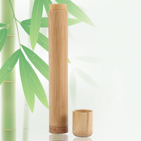 Eco Friendly Tube Shape Toothbrush Holder